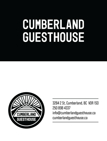Cumberland Guesthouse Business Cards